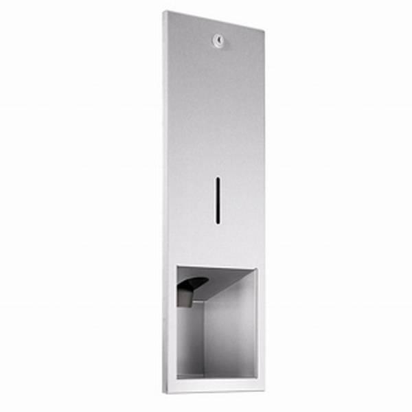WP208R Dolphin Prestige Recessed Liquid Soap Dispenser