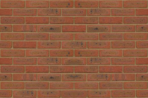 Lambourn Orange Multi Stock - Clay bricks