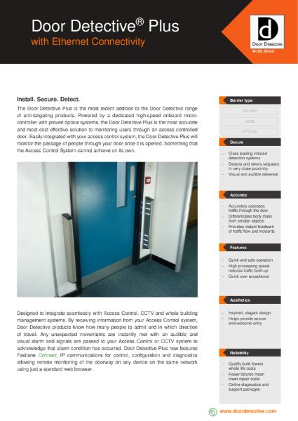 Fastlane Door Detective Plus Data Sheet