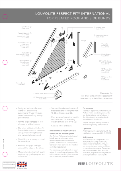 Perfect Fit International System Technical Specification