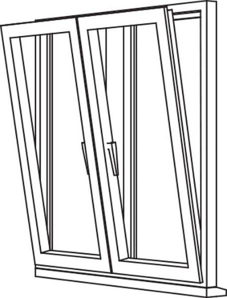Zendow 5000 Tilt & Turn (Slim Sash) - TT3 Opener/Opener