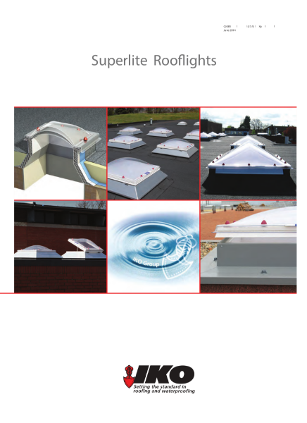 IKO Superlite Modular Rooflights