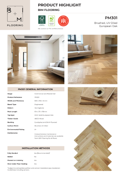 Product Highlight - Herringbone PM301