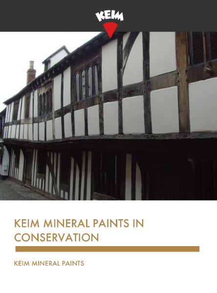Keim Mineral Paints in Conservation