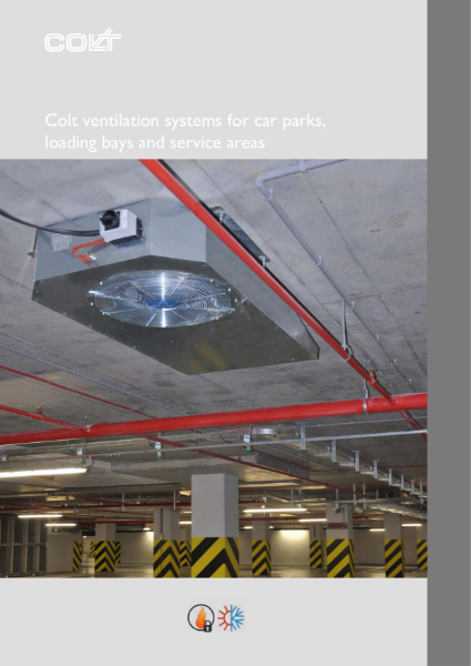 Ventilation systems for car parks and service areas