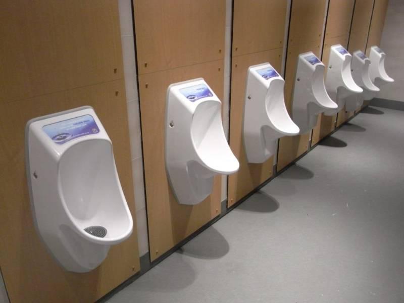 Urimat Waterless Urinals in McDonald's Restaurants