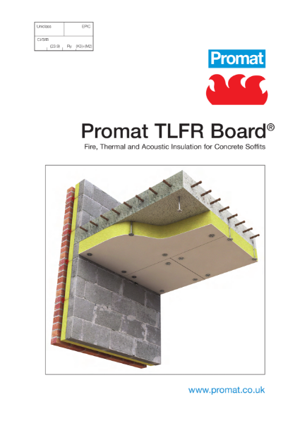 Promat TLFR Board® - 3 hours fire protection