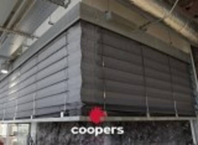 Coopers SmokeStop® Concertina™ Open - Circular