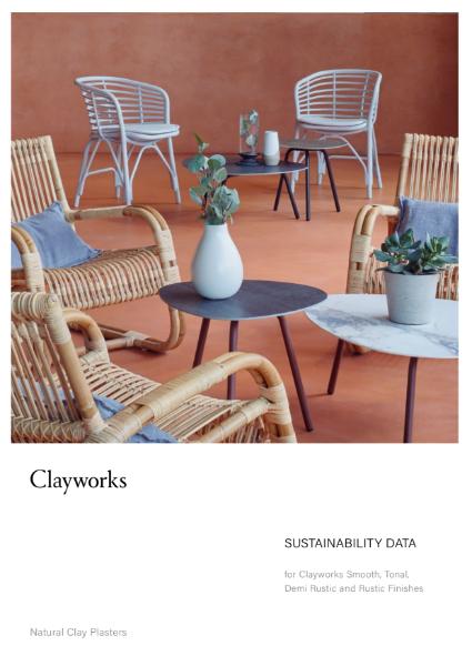 Clayworks Sustainability Data