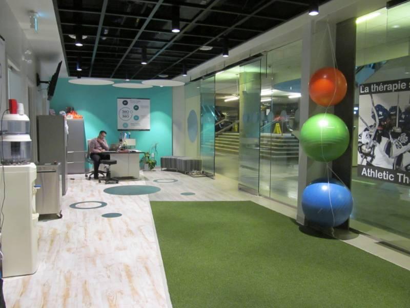 Polyflor flooring chosen for Ottawa physio clinic