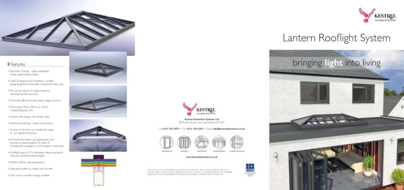 Kestrel Lantern Rooflight System