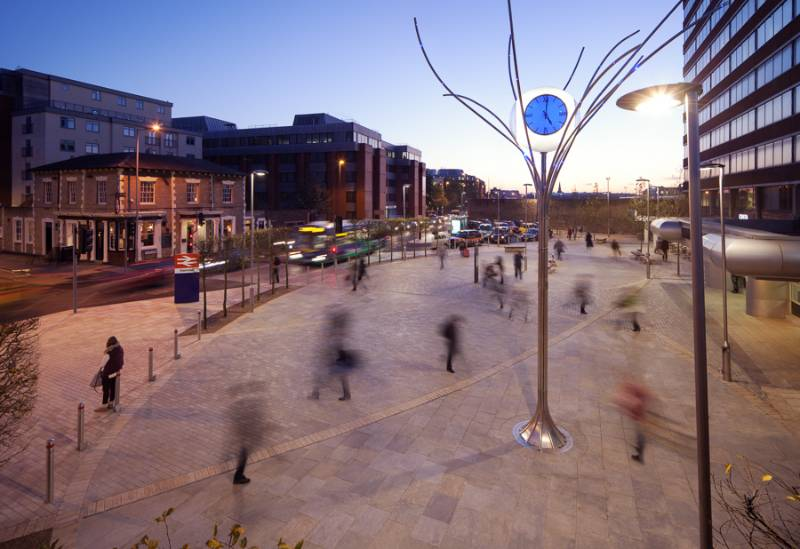 Swindon Station is back on track with Ultrascape's Mortar Paving System