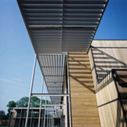CS Airfoil® Fixed Solar Shading