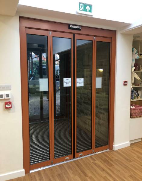 Compact Automatic Entrance for Hospice Refurbishment