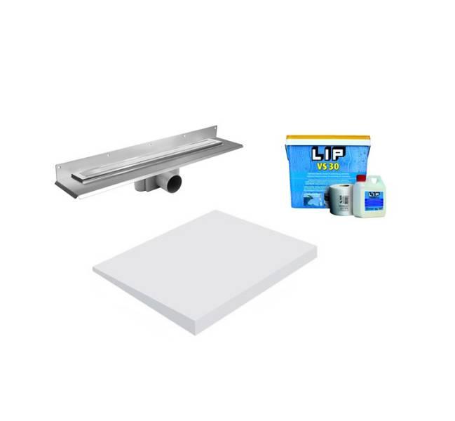 Unislope 1K Wetroom System