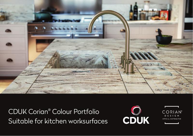 CDUK Corian® Kitchen Colour Portfolio