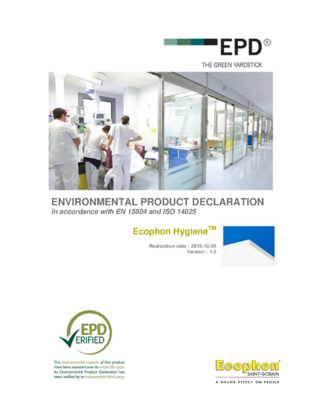 Hygeine Environmental Product Declaration