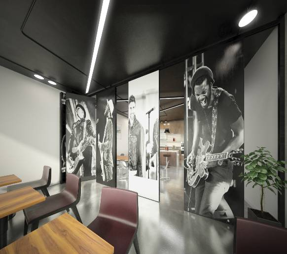 Digitally Printed Moveable Walls