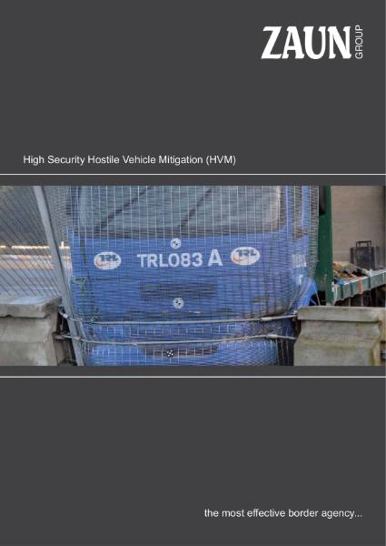 Perimeter Hostile Vehicle Mitigation HVM PAS 68