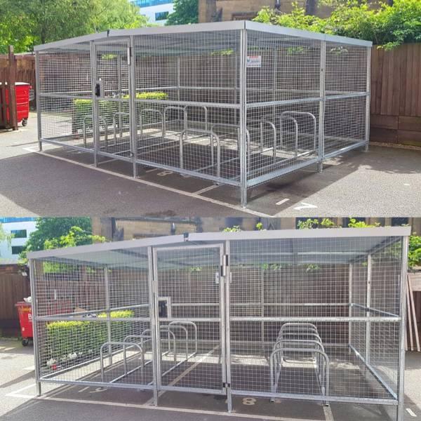 Security Cycle Enclosure - Kibre Design