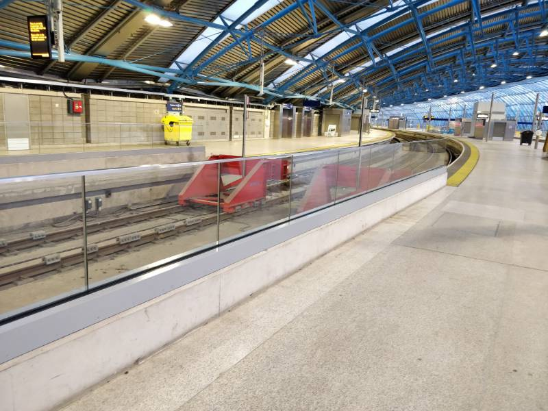 MEGA-Grip Balustrade at Waterloo Station