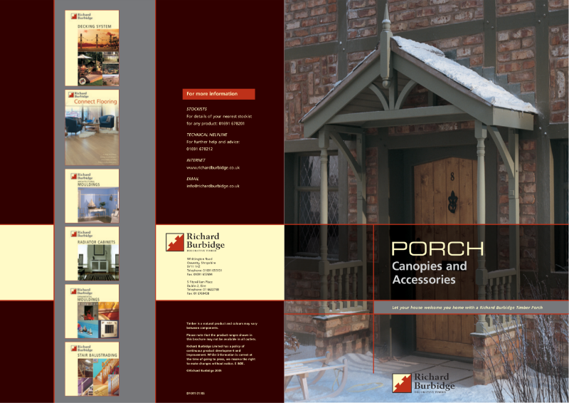 Porch Canopies and Accessories