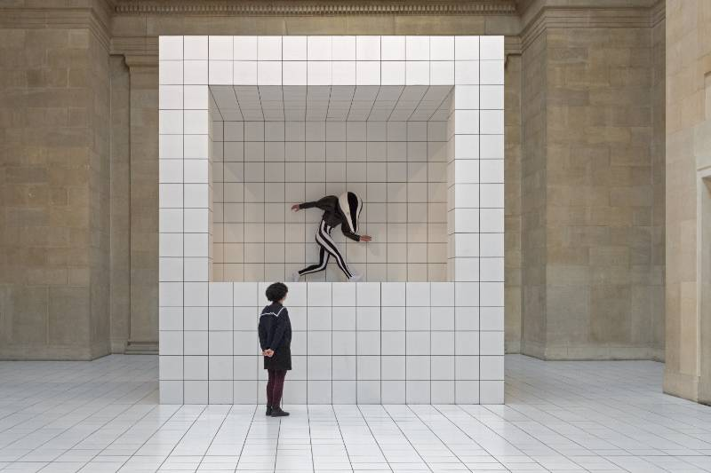 Tate Britain - An Artistic Uncoupling of Tile