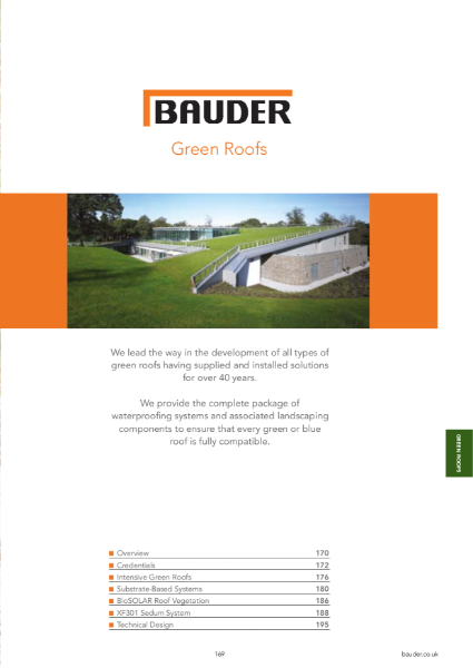 Green Roof Systems - Bauder
