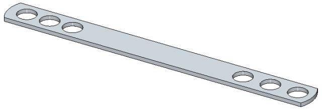 Wall Tie – Flat Bar