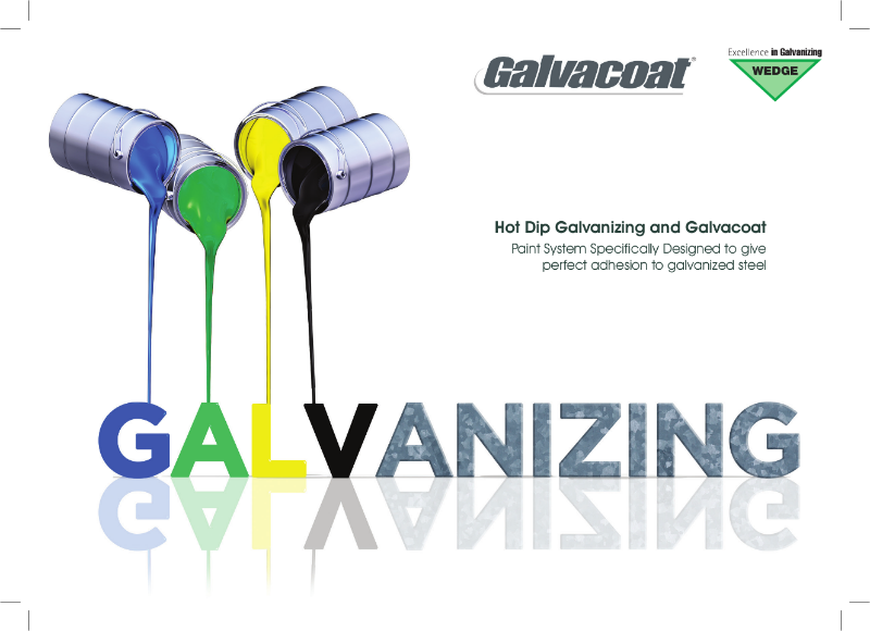 Galvacoat - Paint For Hot Dip Galvanized Products