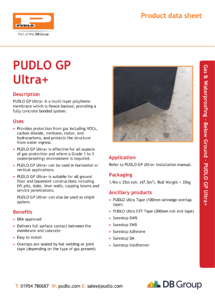 PUDLO GP Ultra +