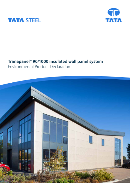 EPD Trimapanel® 90/1000 for Europe