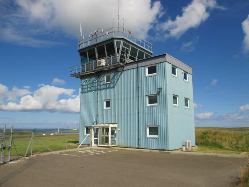 Waterproofing an Air Traffic Control Tower, Scotland