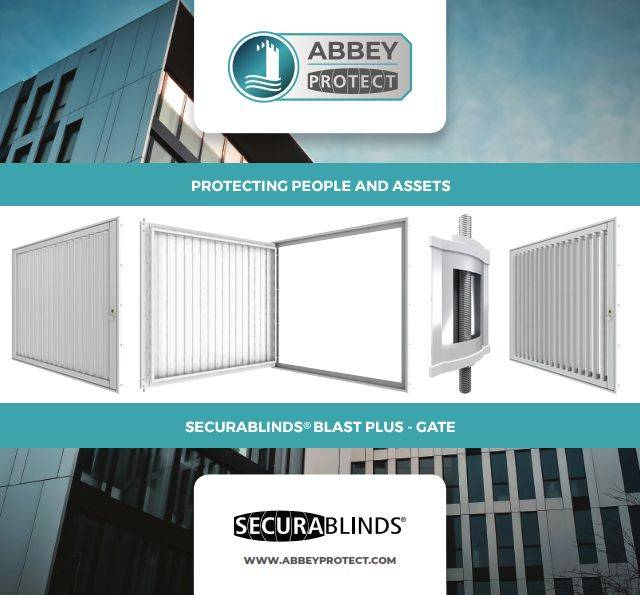 SECURABLINDS® Blast Plus, Left/ Right Hand Hung Gate, Double Gate, Fixed Grille or Double Lock Grille Security Blast Blind - A4GTLHH / A4GTRHH / A4DG / A4FG / A4DLG