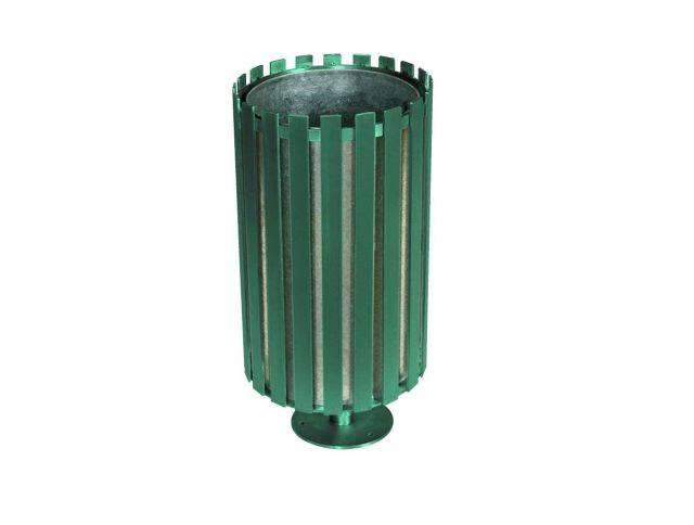 Ollerton Academy Steel Litter Bin