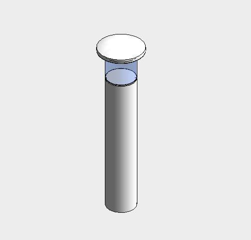 Aluminium lighting bollards - surface mounted