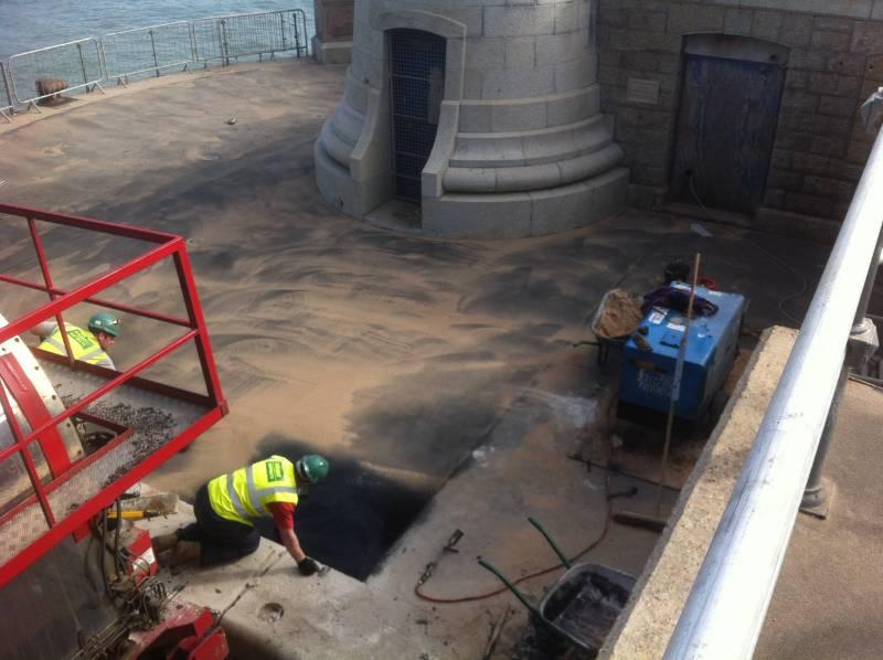 180 Tonnes of IKO Permaphalt used in the Regeneration of Folkestone Seafront