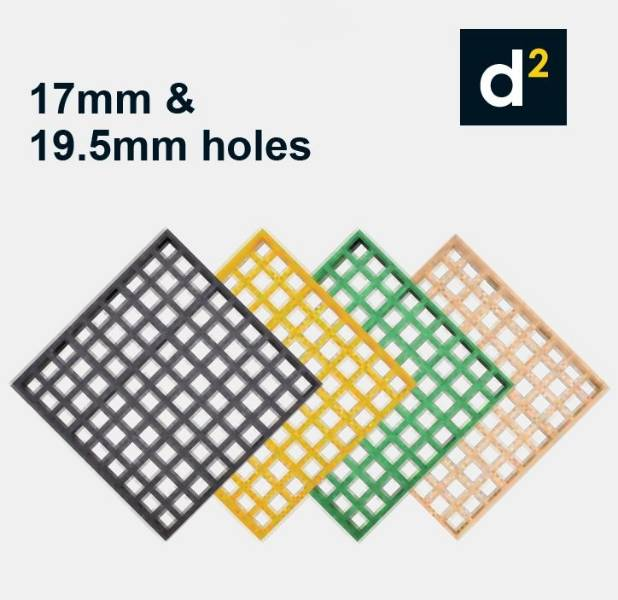 d² Dura Grating Mini Mesh