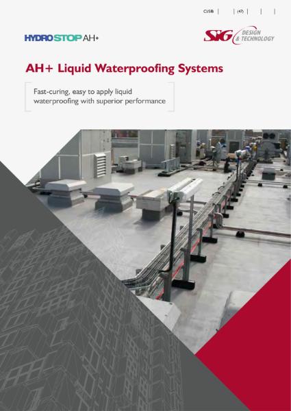 Hydrostop AH+ Liquid Waterproofing Brochure