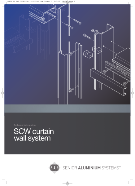 Curtain Wall Systems Technical Datasheets