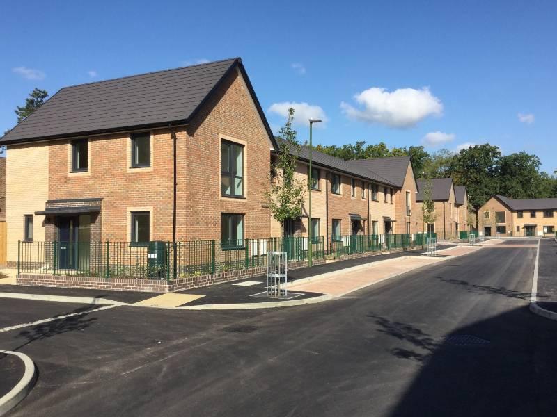 Spectus flush tilt & turn windows fitted in high profile social housing development