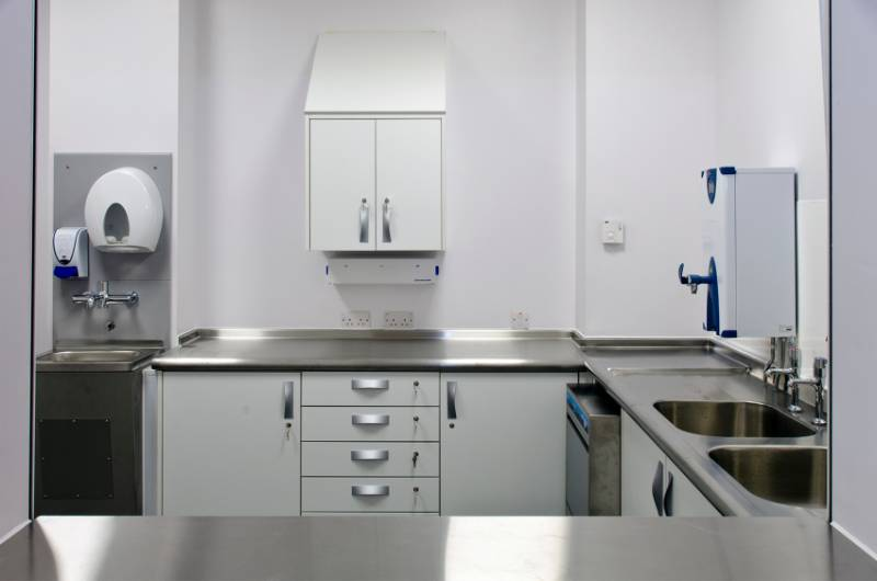 Murray Royal Hospital specifies Franke for janitorial fit out