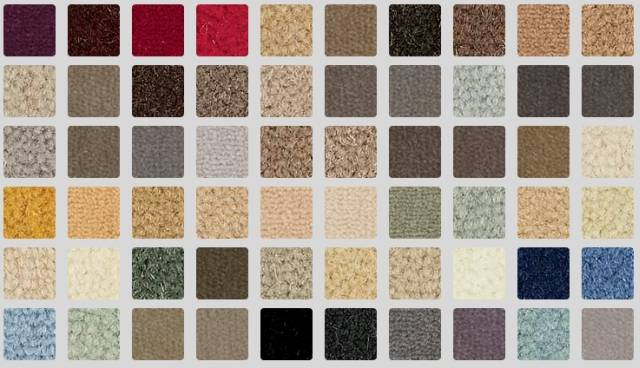 Exquisite Velvet Range Broadloom Carpet