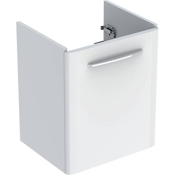Selnova Square Cabinet for Washbasin, with One Door and Service Space