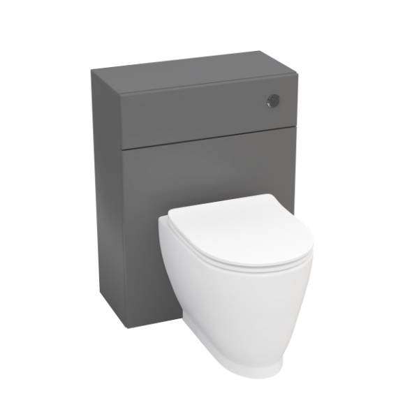 Designer Series 4 back to wall WC set including soft close seat