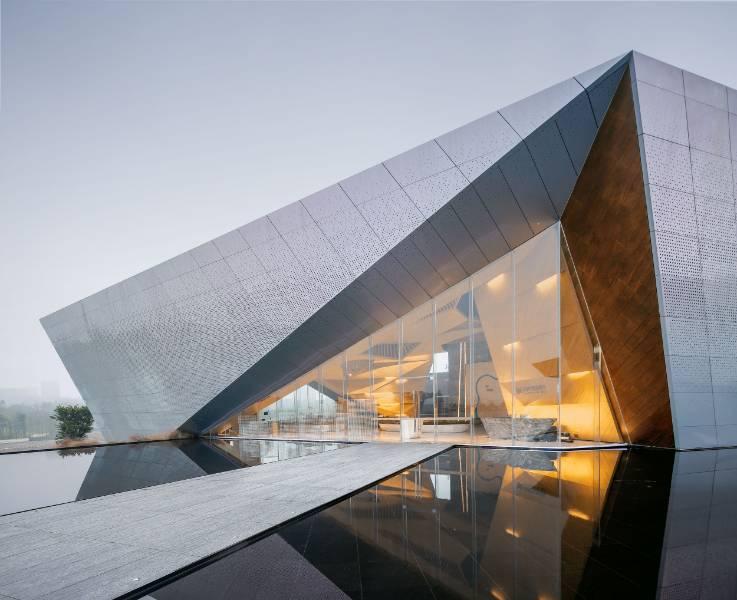 Chongqing Longfor • Hall of Waterfront City Shanghai Tianhua Architecture Yubei, Chongqing, China