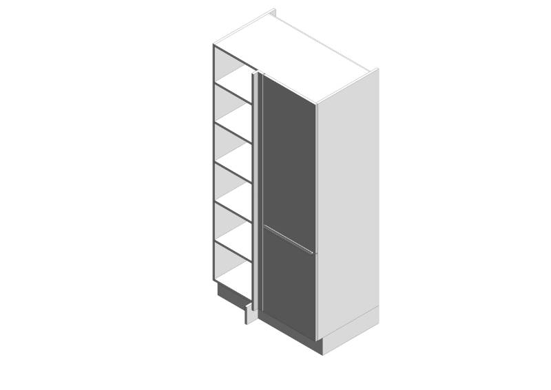 Linear Corner Larder Cabinets