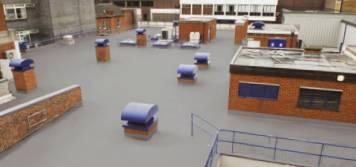 Liquid Roof Membrane Anti-slip