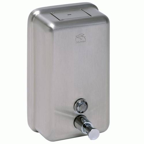 BC923 Dolphin Stainless Steel Vertical Soap Dispenser