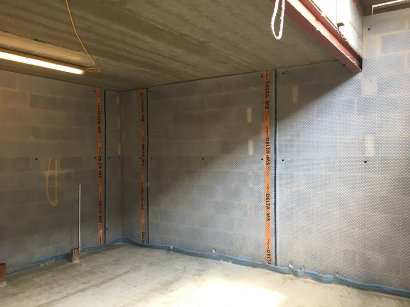 North London Synagogue - Structural Waterproofing Basement